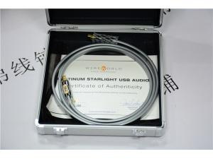 美国 线世界 PLATINUM STARLIGHT白金星 纯银USB线