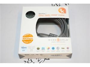 美国 线世界STELLAR OPTIC FIBER HDMI CABLE 众星2.1版本8K光纤高清线